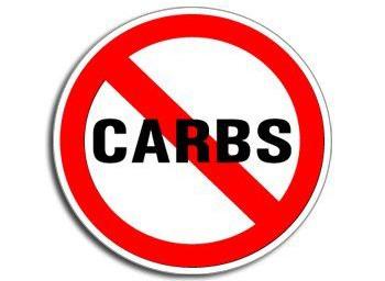 'NO CARBS?'