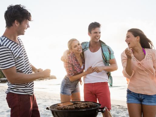 Barbecue season - Low carb pasta salad