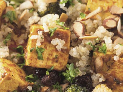 Healthy and super flexible quinoa bowl.
