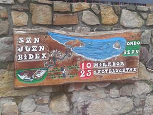 Sign to Gaztelugatxe