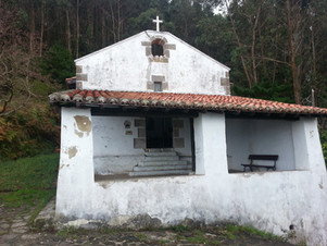 A hilltop church in the Basque country