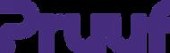 Pruuf logo