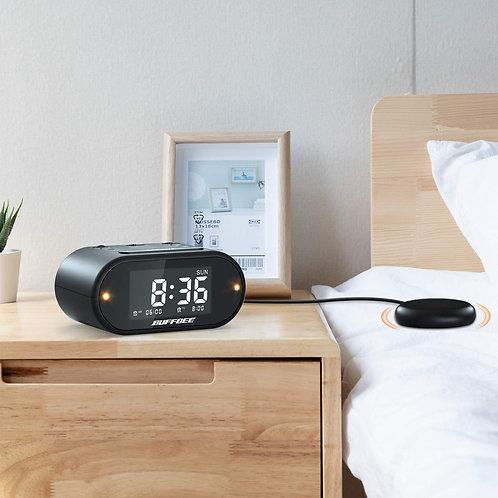 Buffbee loud vibrating alarm clock