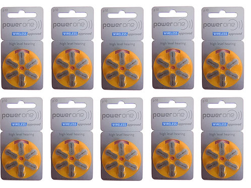 Hearing aid batteries PACK 60