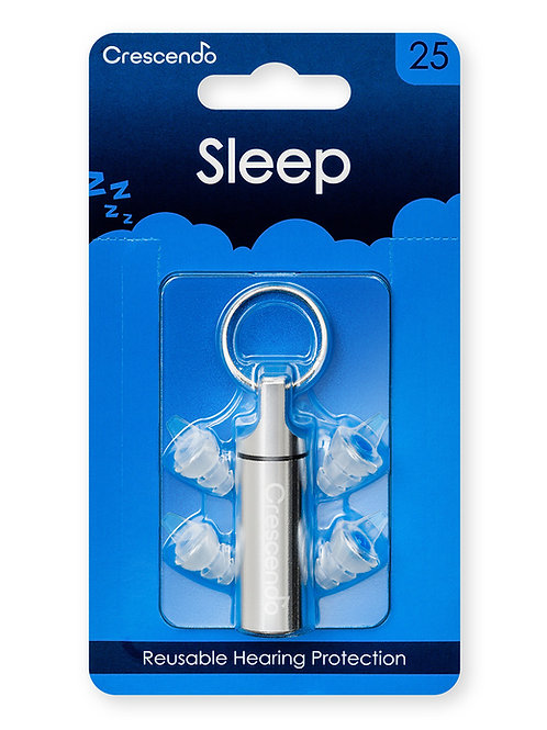 Crescendo Sleep 25 earplugs