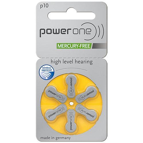 Powerone hearing aid batteries Size P10