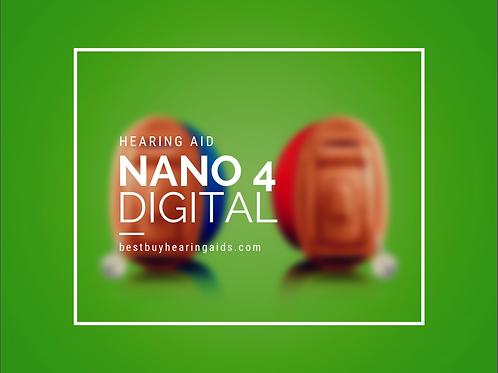 Nano 4 Invisible Hearing Aid