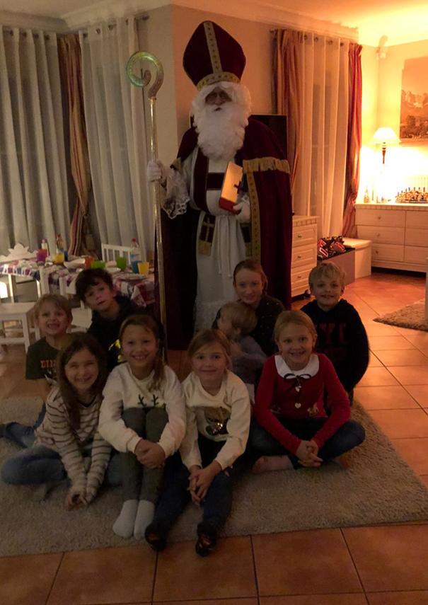 Zornedinger Nikolaus bedenkt die Kinderkrebshilfe Ebersberg e.V. ein weiteres Mal mit fantastischen 700 €