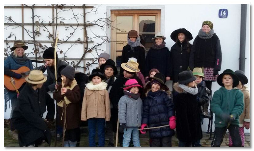 Klopfer singen in Rettenbach für die Kinderkrebshilfe Ebersberg e.V.