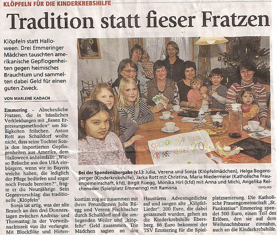 Tradition in Emmering
