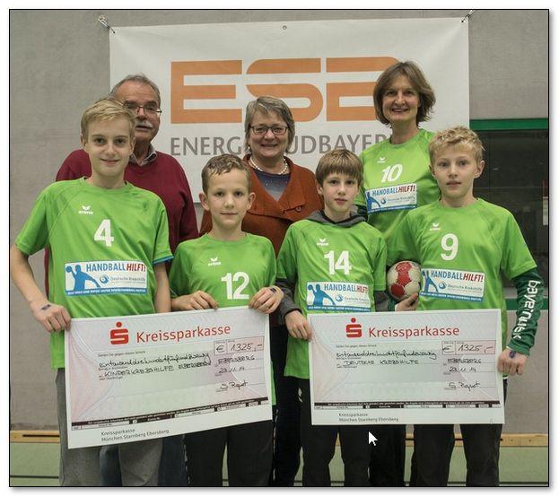 Handballer erspielen unglaubliche 2.650,00 €
