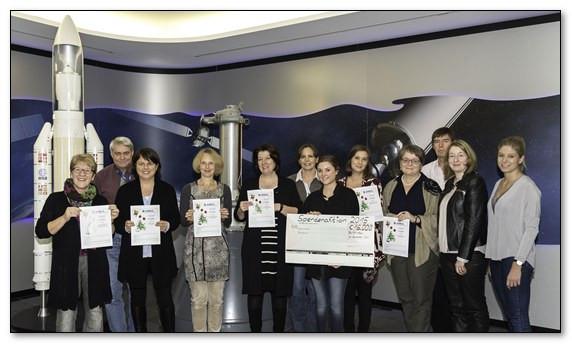 Mitarbeiter und Mitarbeiterinnen von Airbus spenden 2.000,00 €