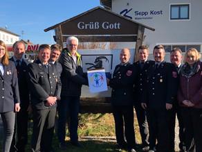 Freiwillige Feuerwehr Tulling e.V. sammelt 1.625 € für die Kinderkrebshilfe Ebersberg e.V.