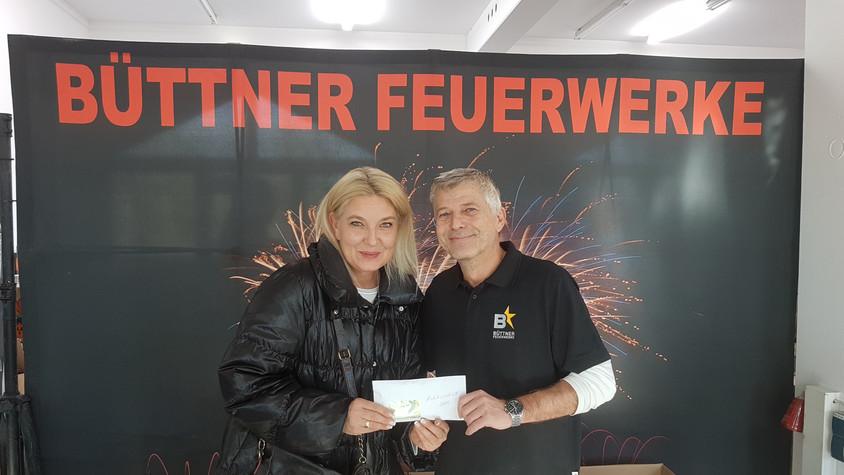 Tombola beim Silvestervorschießen erbringt stolze 1.666 € für die Kinderkrebshilfe Ebersberg e.V.