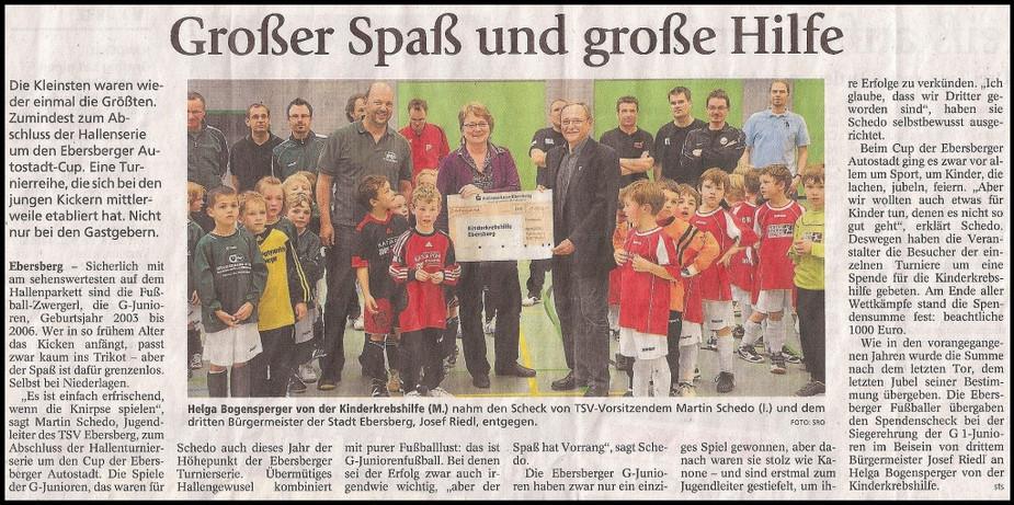 TSV Ebersberg ganz groß