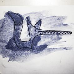 Boceto ilustración para cuento infantil