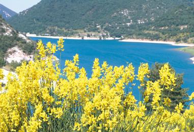 Veduta del Lago di Fiastra