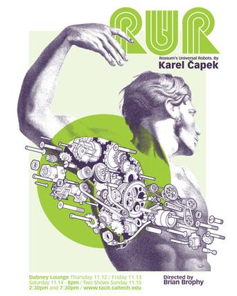 Hand-silkscreened poster.