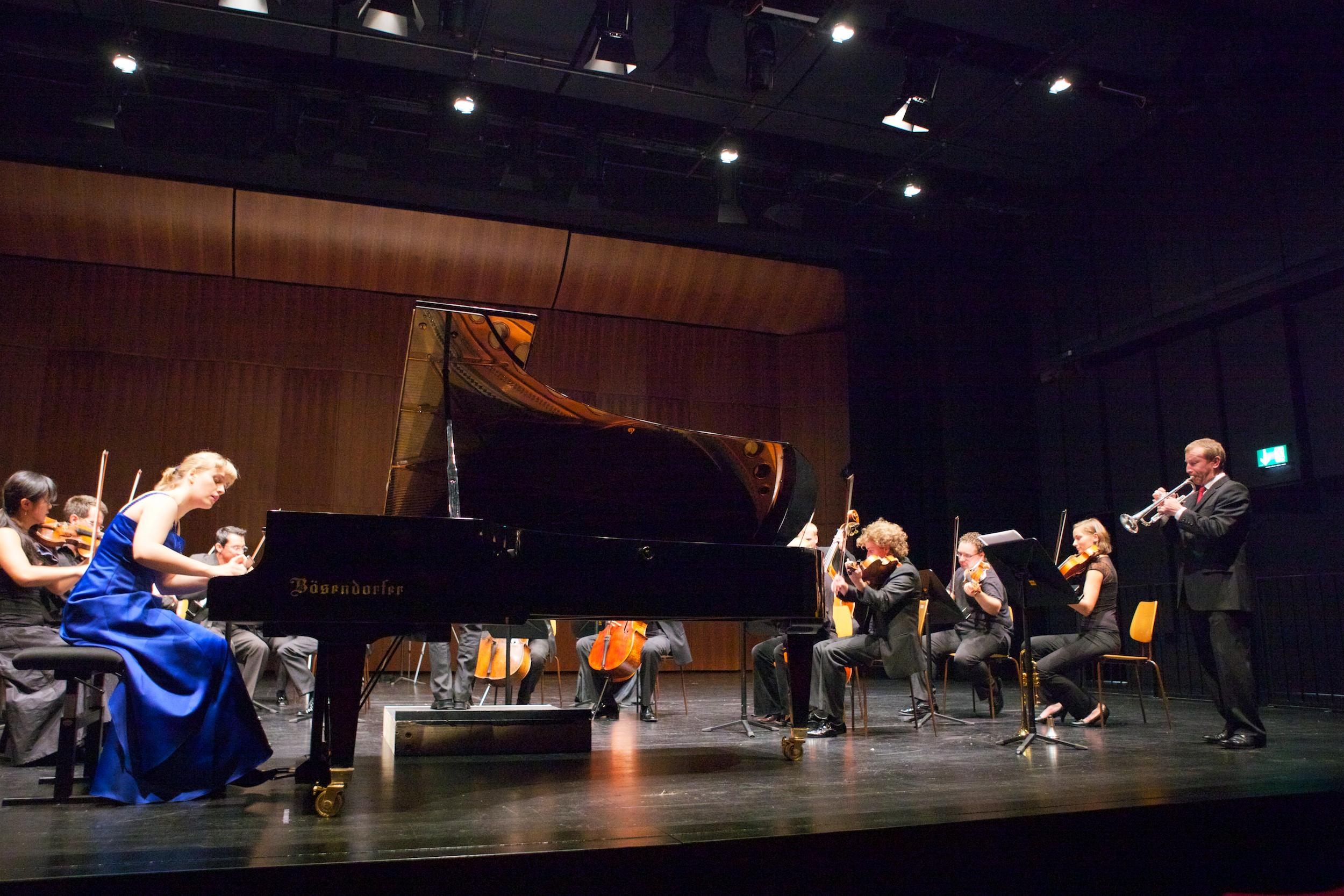 performing Shostakovich 1st Concerto