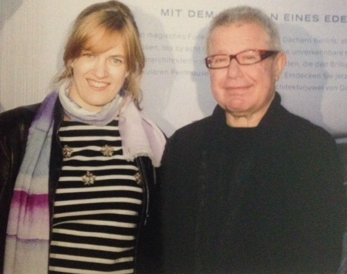 with architect Daniel Libeskind