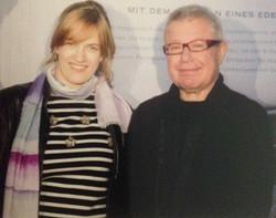 with architect Daniel Libeskind