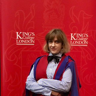 Doctoral graduation King's College London