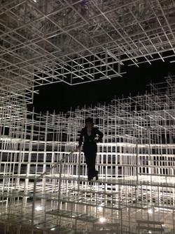 in art installation at Serpentine