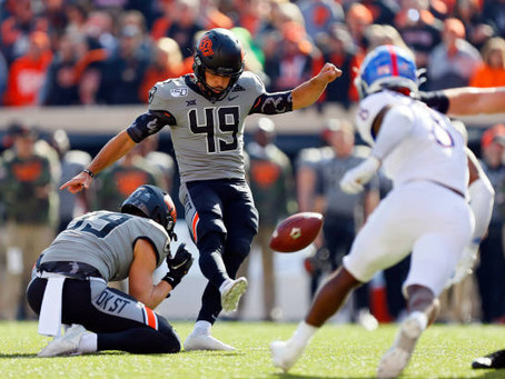 INTERVIEW WITH FORMER OKLAHOMA STATE UNIVERSITY KICKER AND NFL PROSPECT MATT AMMENDOLA