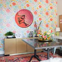 Wall Decor Plate: Pink