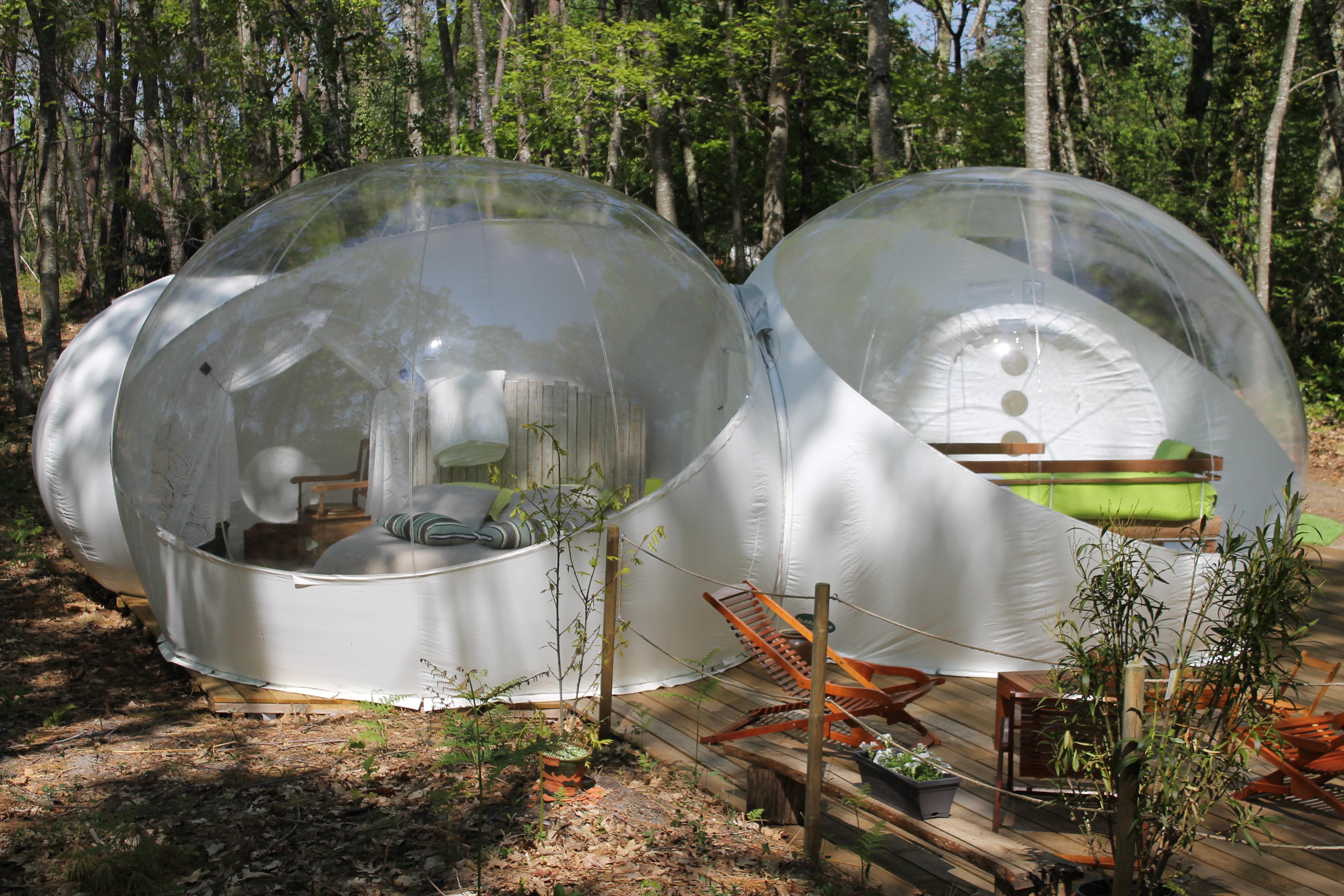 bulle double familiale 5 personnes