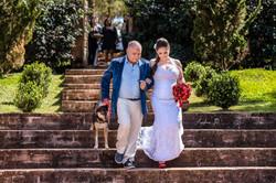 entrada da noiva critativa