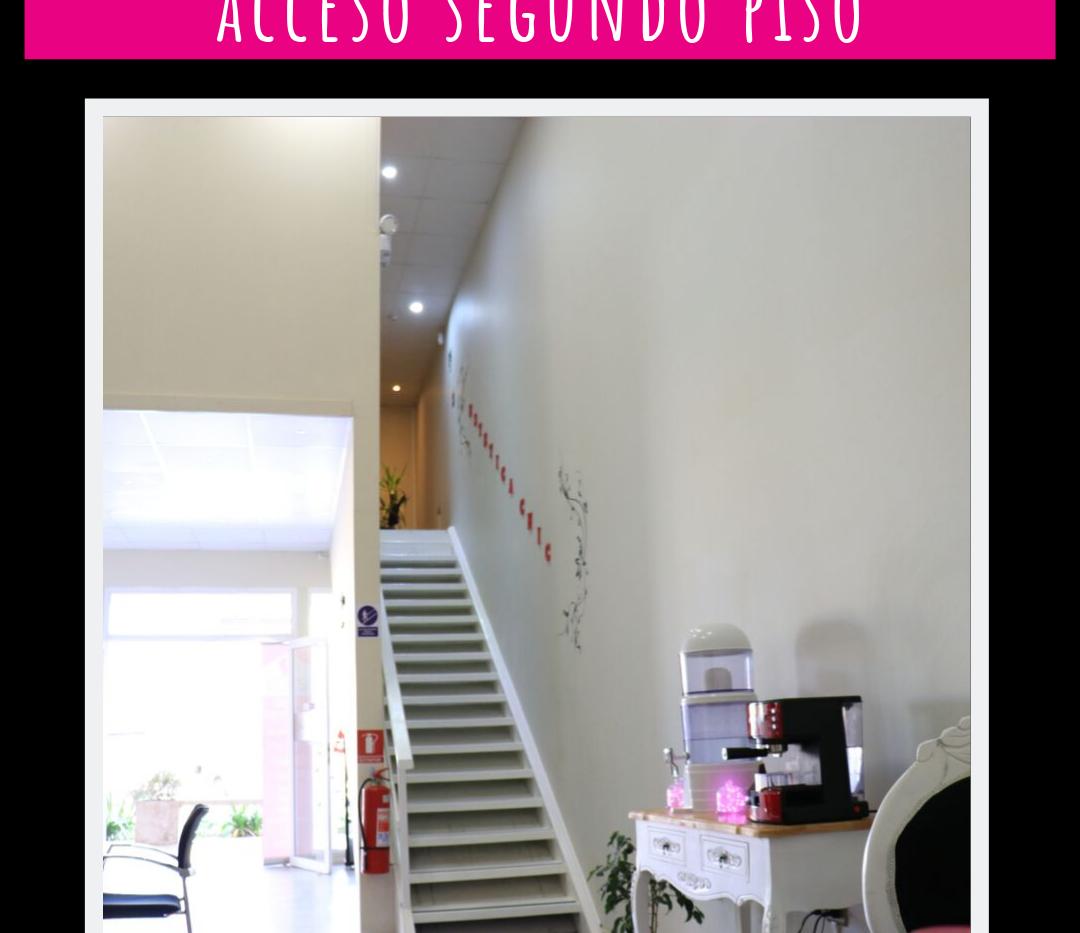escalera segundo piso