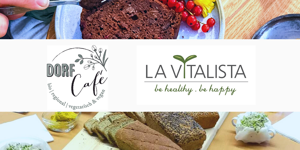 Glutenfreie Brotvariationen + Vegan Kuchen backen