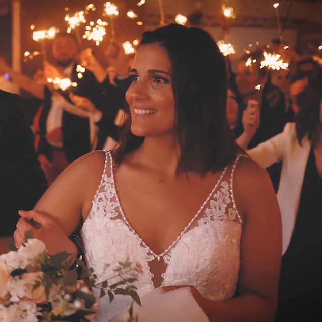 vidéo entrée des mariés
