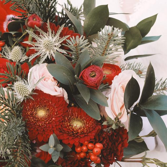 film mariage picardie bouquet noel