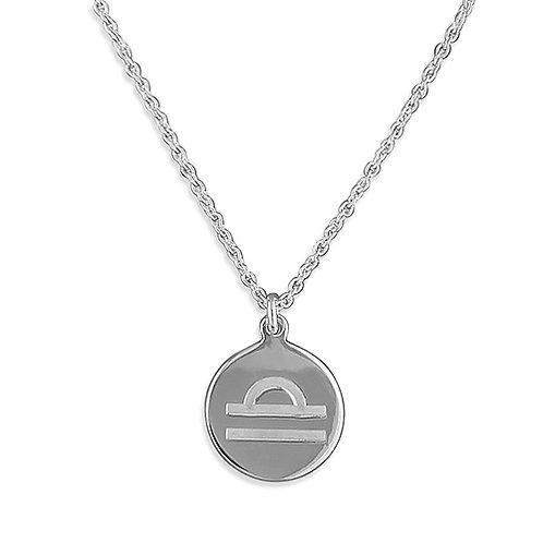 Libra Zodiac Symbol Necklace