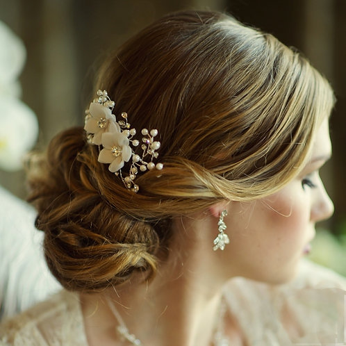 Bridal Hair Comb 'Vivian' from Sass Collection