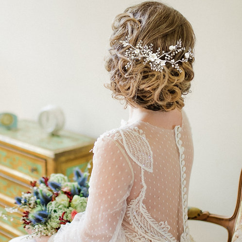 Bridal Hair Comb 'Athena Vintage Luxe'