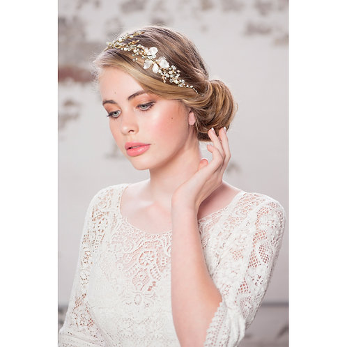Bridal Hair Vine 'Enchanting Vintage' from The Athena Collection