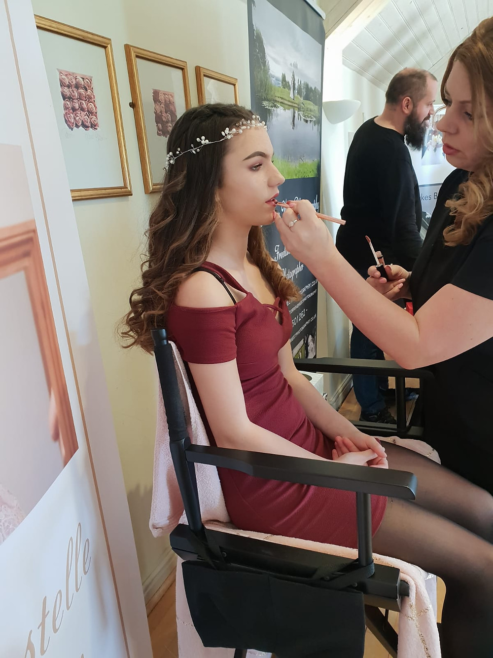 Bridesmaids Make up Demo