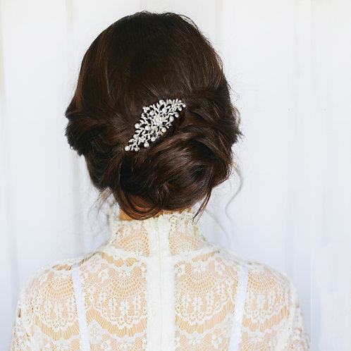 Bridal Hair Comb 'Athena Crystal Divine'
