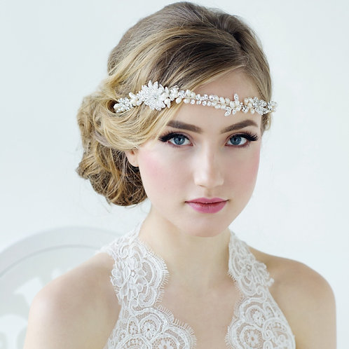 Bridal Hair Vine 'Angelica' from the Sass Collection