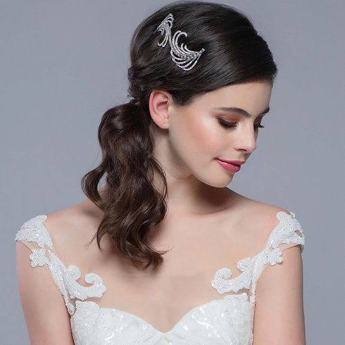 Bridal Hair Comb 'Gatsby Extravagance' from The Sass B Collection