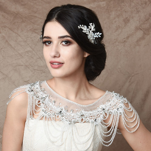 Bridal Hair Combs  'Athena Vintage Inspired'