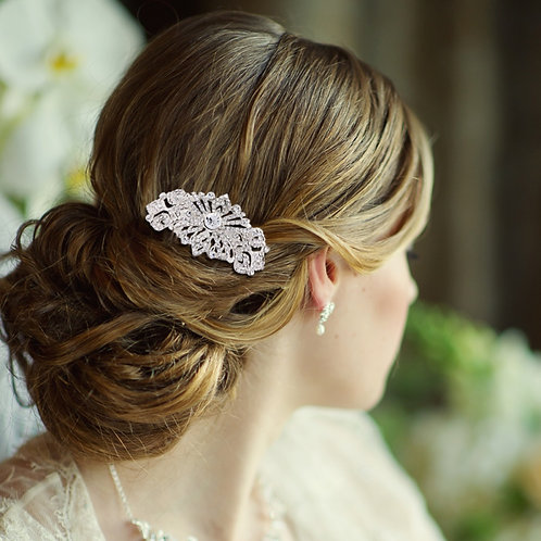 Bridal Hair Comb 'Adella' from Sass Collection