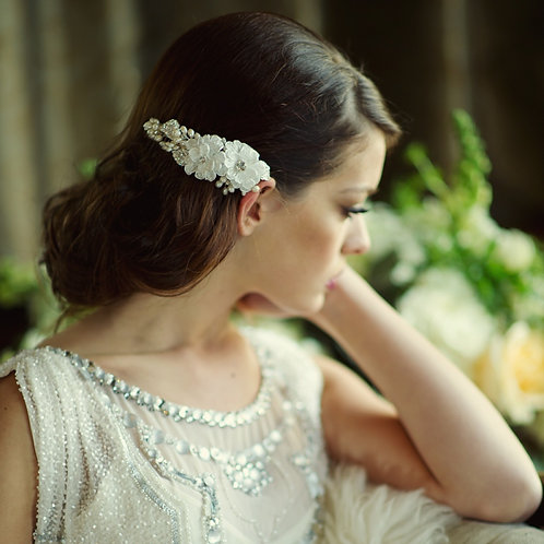 Bridal Hair Comb 'Annabelle Luxe' from Sass Collection