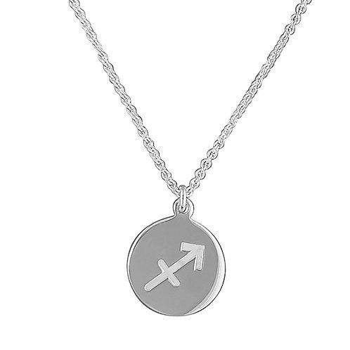 Sagittarius Zodiac Symbol Necklace