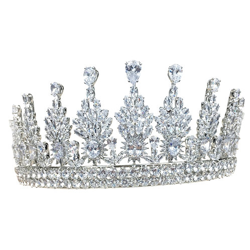 Regal Crystal Tiara