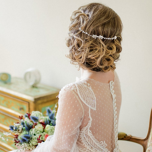 Bridal Hair Vine 'Dainty Marquis' from the Athena Collection