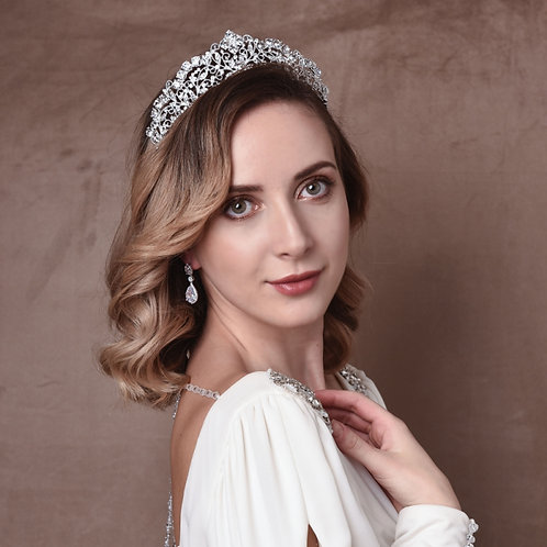 Bridal Wedding Tiara 'Isabella Exquisite' from Sass Collection